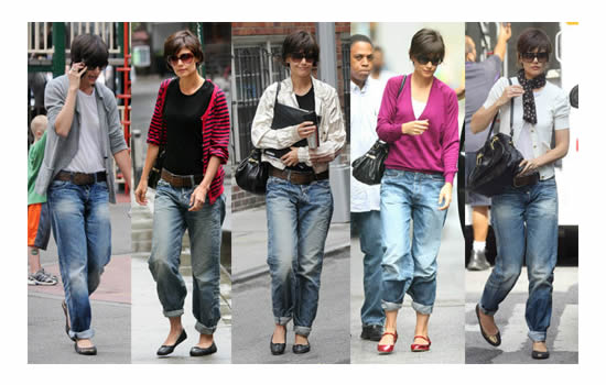 Fashionista NOW: The Boyfriend Jeans Trend